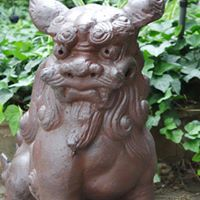 Foo Dog at Entry