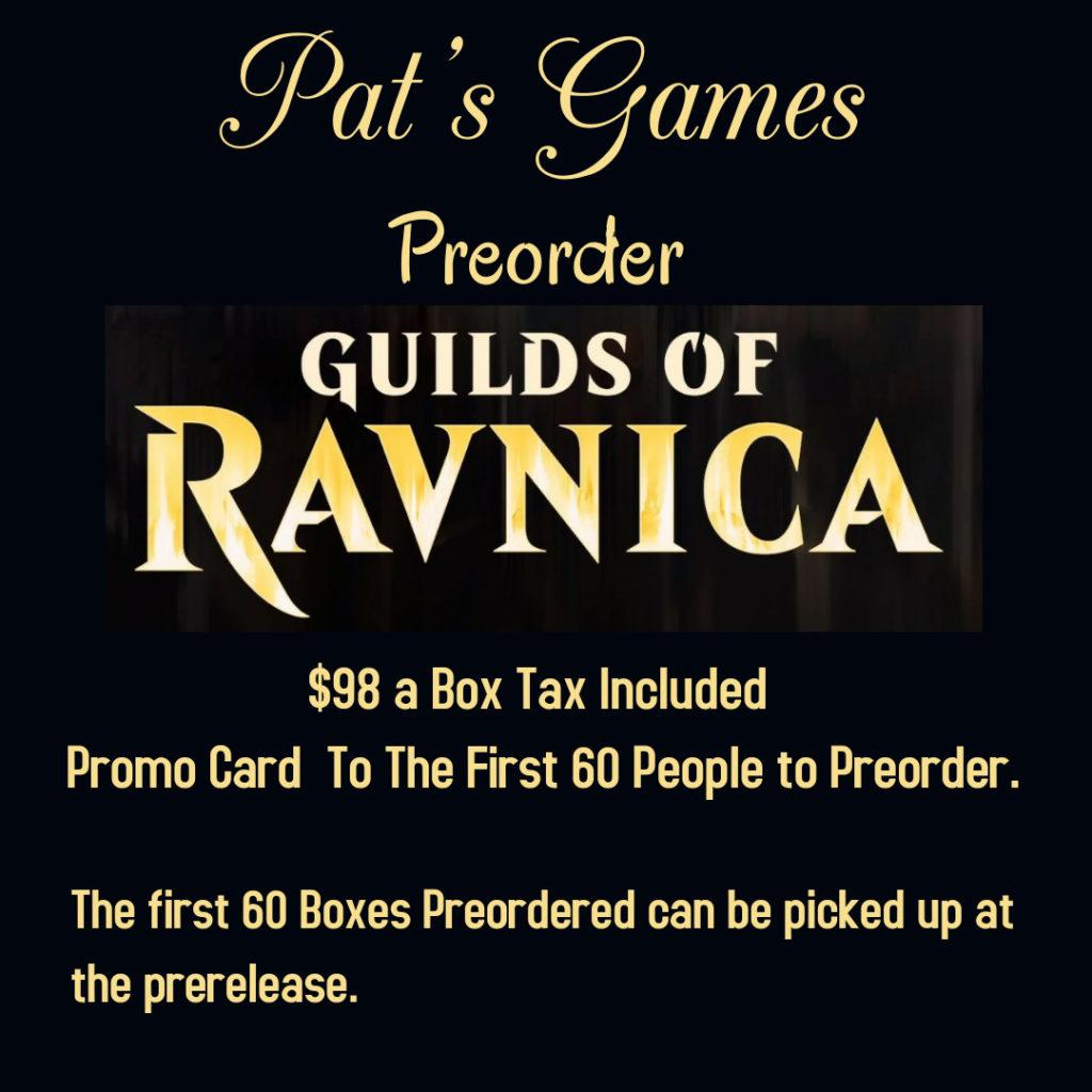 Preorder Guilds of Ravnica (1)