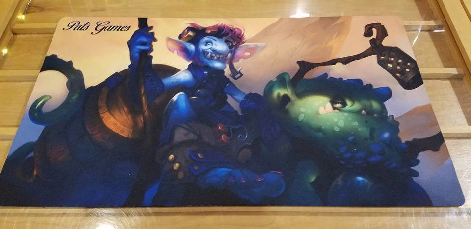 Pat's Games Playmat