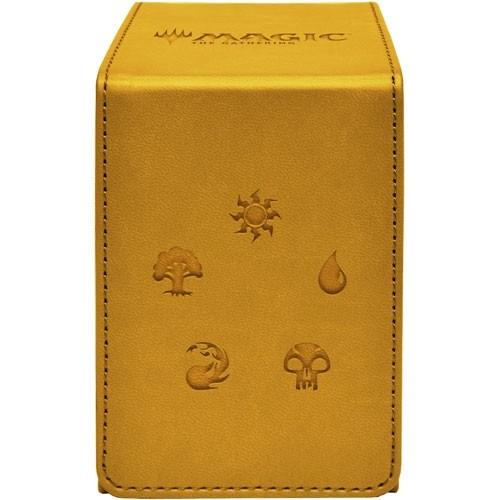 Ultra Pro Alcove Flip Deckbox Gold