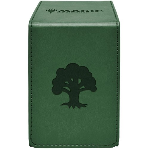Ultra Pro Alcove Flip Deckbox Green