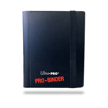 Ultra_Pro_2_pocket_Black_binder