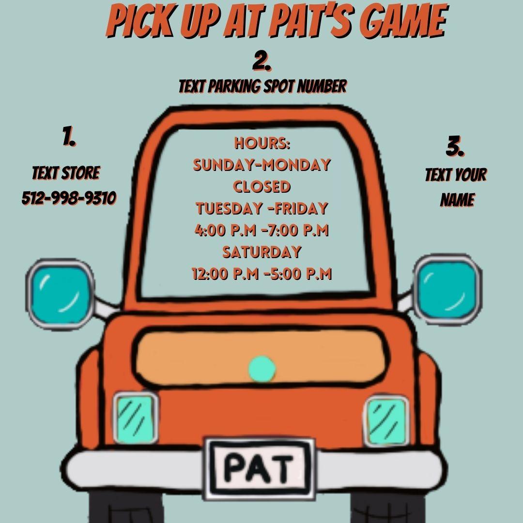 Pick Up at Pat's