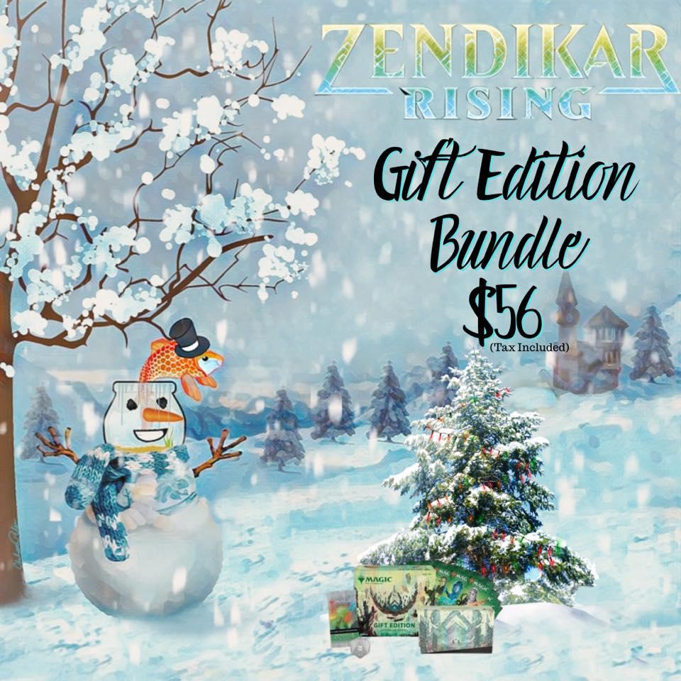 Zendikar Rising Gift Edition Bundle Available
