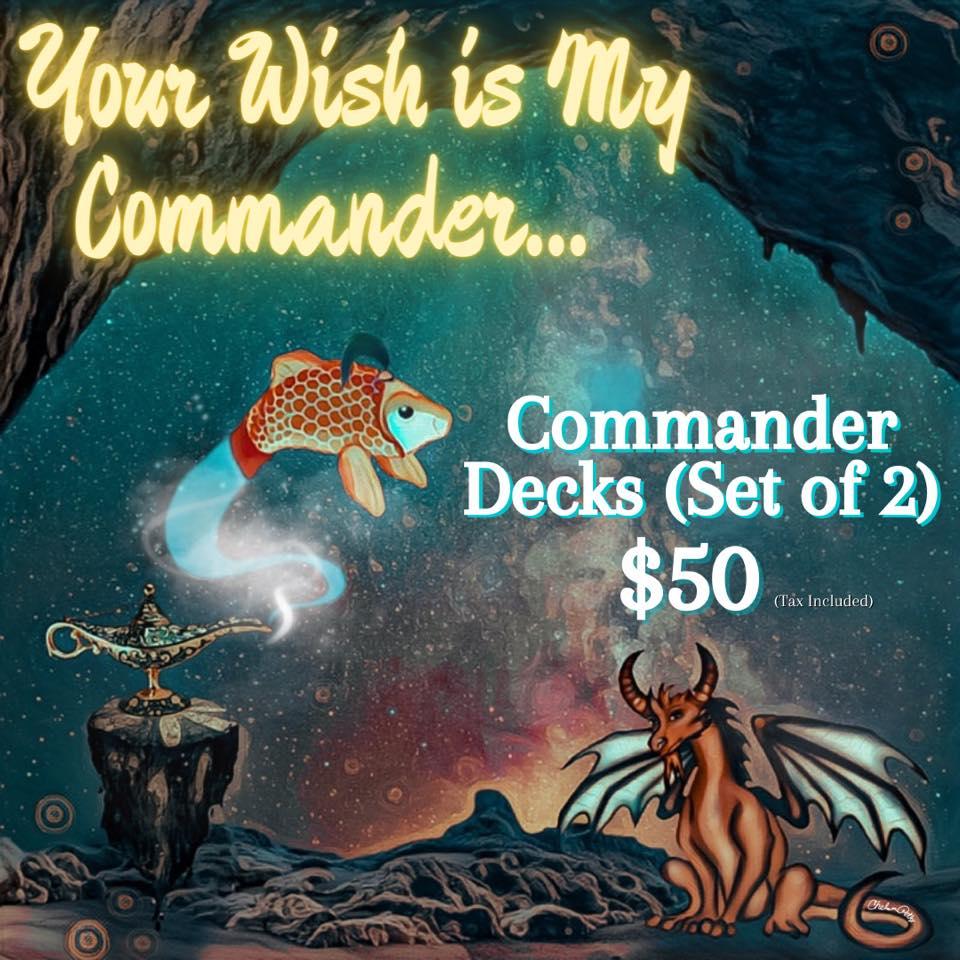 New Price Alert for Commander Decks