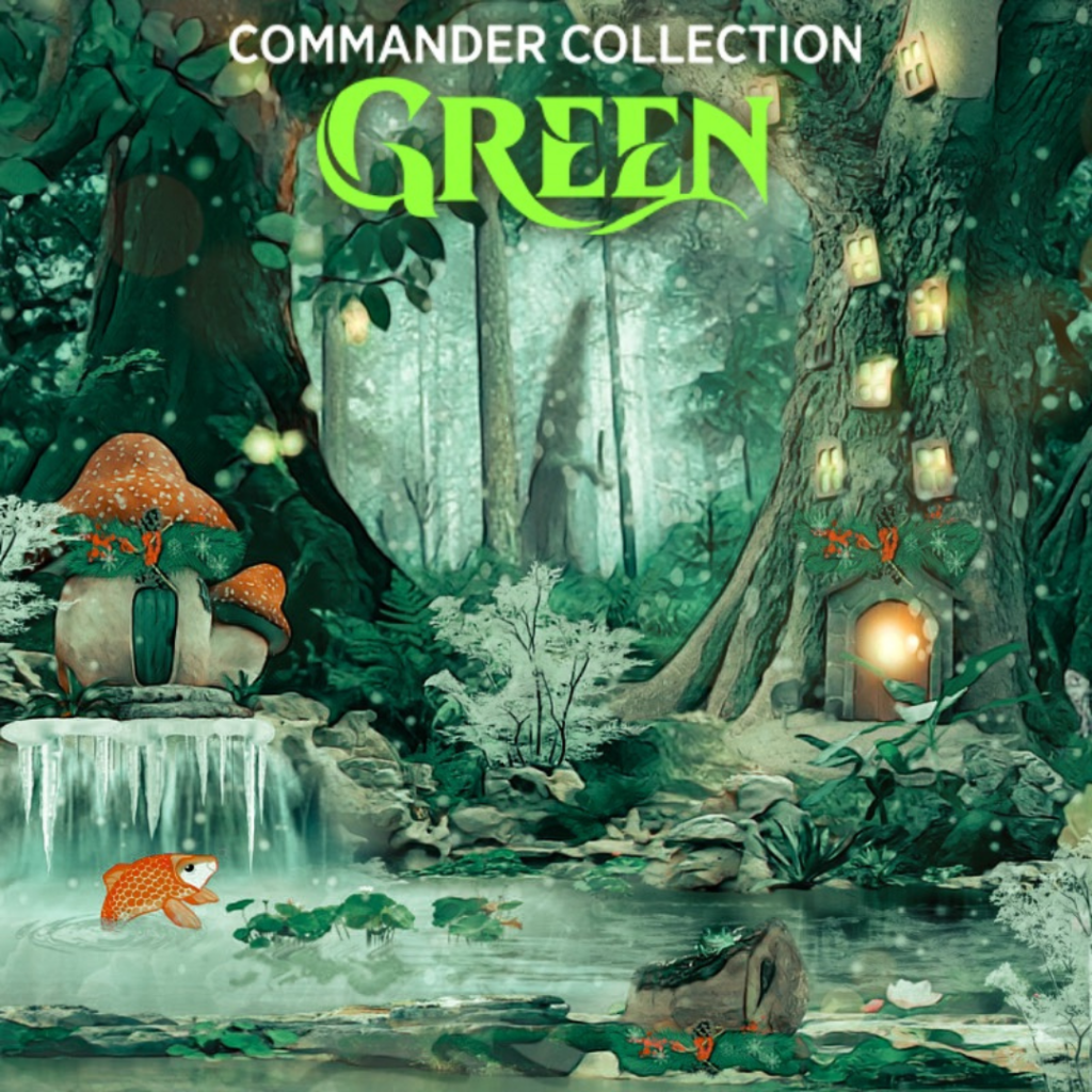 Pre-Order Commander Collection Green
